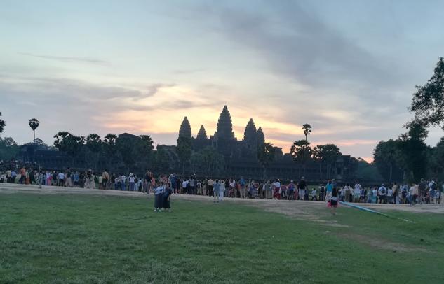 Angkor wat nerede