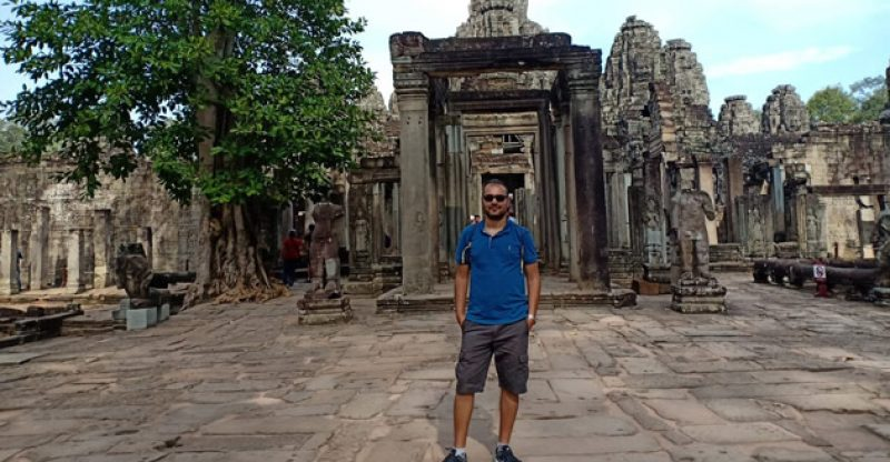 Kamboçya Siem Reap Utku Akkaya