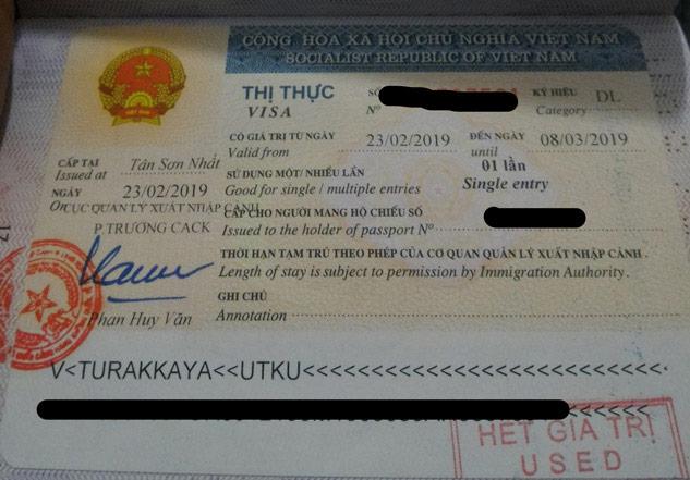 vietnam vize istiyor mu