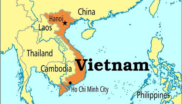 Vietnam Nerede - Ho Chi Minh City Nerede - Harita