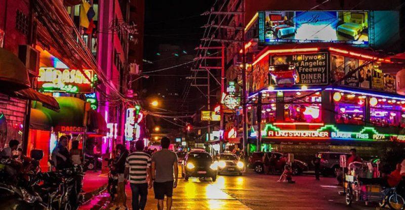 Filipinler gece hayatı - Manila, Boracay, Angeles City