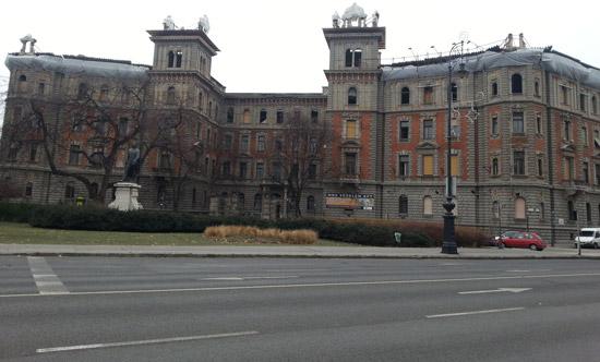 Macaristan'ın başkenti Andrassy Ut
