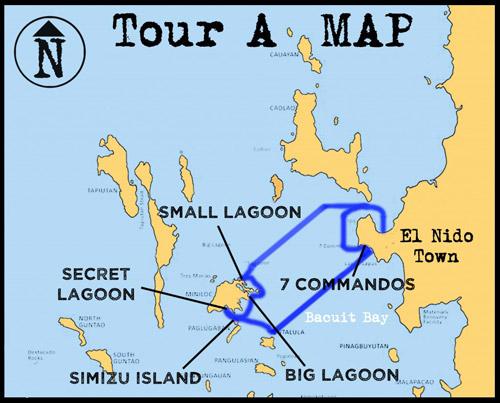 Tur A gezi rotası