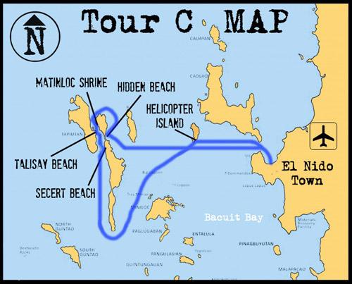 Tur C gezi güzergahı
