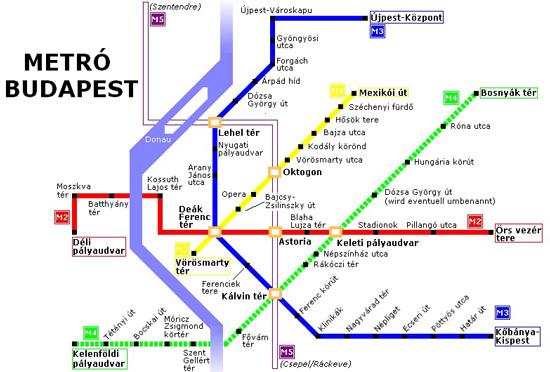 şehir içi ulaşım metro haritası