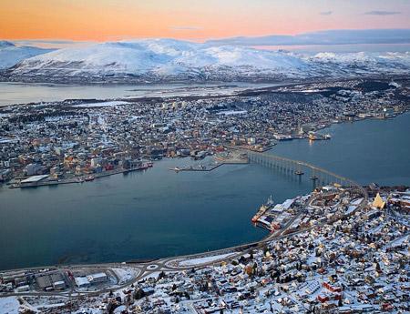 kuzey ışıkları nerede izlenir tromso norveç