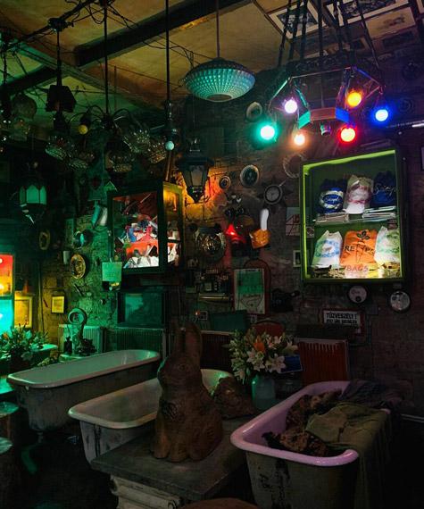 Macaristan gece hayatı ruin barlar