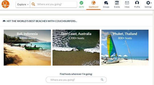 otel rezervasyon siteleri couchsurfing nedir