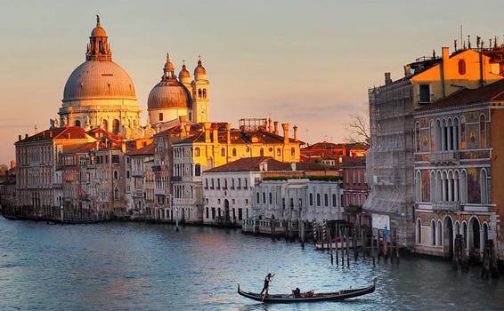 romantik şehirler venedik