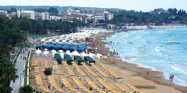 antalya manavgat gezilecek yerler - Side Plajı