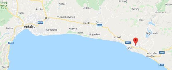 Manavgat Nerede Nasıl Gidilir - Antalya Haritası