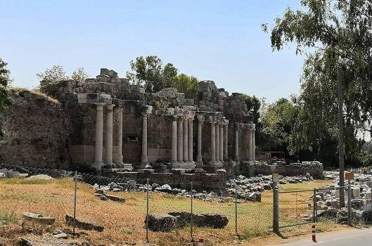 Side Antik Kenti Tarihi Eserler ve kalıntılar