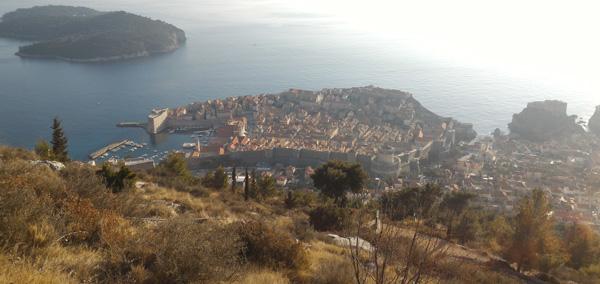 otobüsle balkan turu - Hırvatistan Dubrovnik - King's Landing