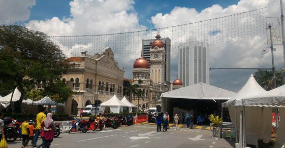 Kuala Lumpur gezilecek yerler ve gezi rehberi - Sultan Abdul Samad Binası