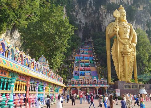 Kuala Lumpur gezilecek yerler Batu Caves nerede