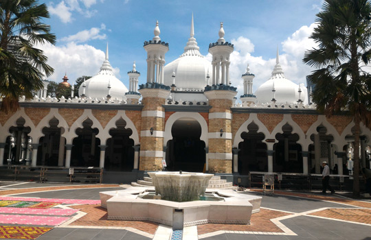 malezya başkenti nasıl bir yer asya gezisi masjid jamek