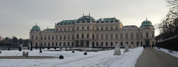 mart ayında gezilecek yerler belvedere sarayı viyana avusturya