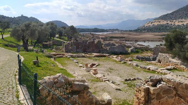 andriake antik kenti likya uygarlıkları müzesi