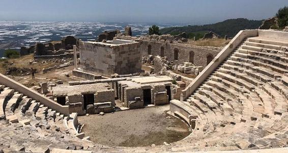 rhodiapolis antik kenti tarihi yerler likya uygarlığı bizans dönemi kalıntılar
