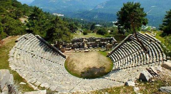 arykandra antik kenti demre gezi rehberi antalya gezilecek yerler