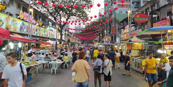 Kuala Lumpur nerede kalınır - Gece hayatı ile ünlü Jalan Alor
