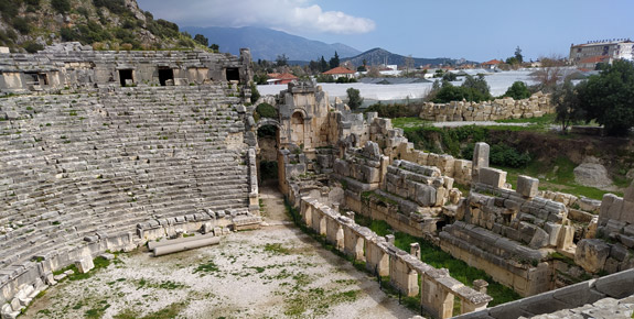 myra antik kenti hangi ilde antalya tarihi ve doğal güzellikler