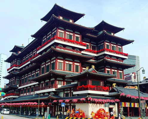 buddha tooth relic temple museum