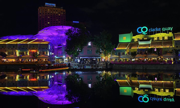 clarke quay singapur gece hayatı gezisi ve turu