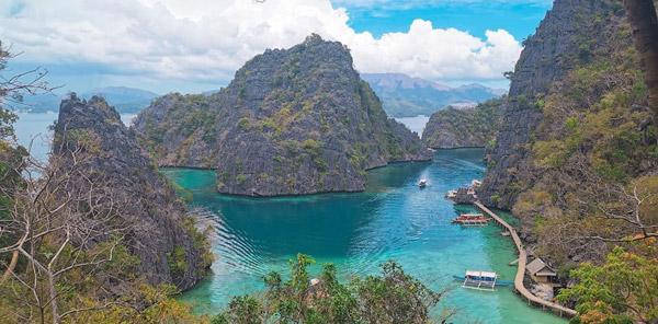 coron kayangan lake - dünyanın en güzel adası