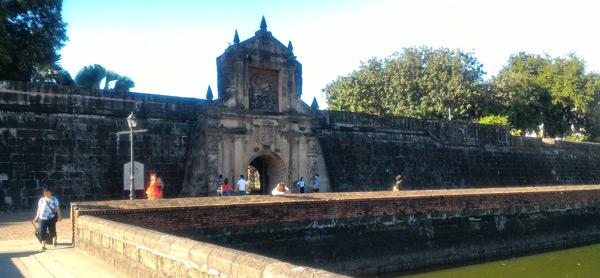 filipinler başkenti manila gezilecek yerler intramuros fort santiago