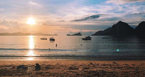 filipinlere nasıl gidilir palawan adası el nido las cabanas beach