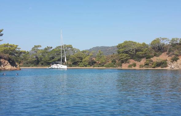 göcek koyları 12 adalar tekne turu mavi yolculuk