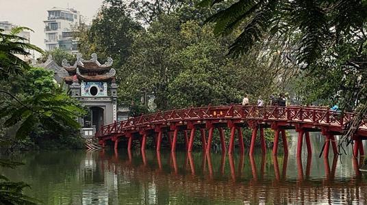 hoan kiem lake, vietnam başkenti hanoi hakkında bilgiler