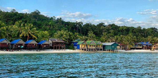 kamboçya gezilecek yerler, koh rong island, türk adası