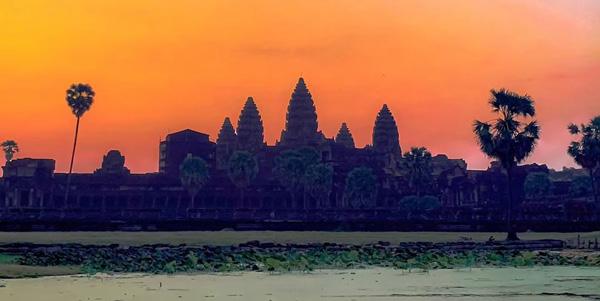 kamboçya gezilecek yerler - siem reap angkor wat tapınağı nerede