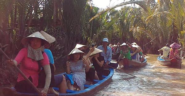 mekong nehri delta turu, vietnam gezilecek yerler