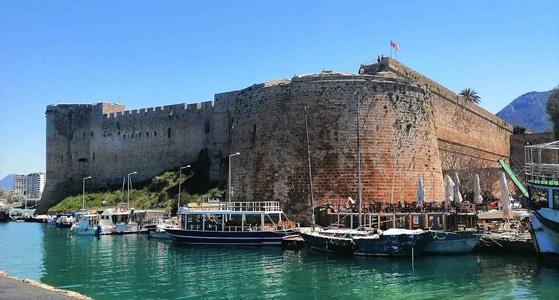 pasaportsuz gidilen ülkeler girne kalesi kuzey kıbrıs