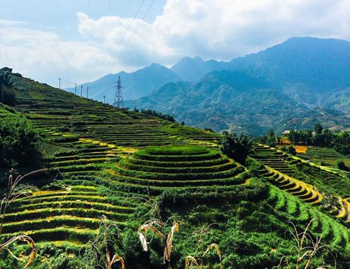 sa pa pirinç tarlaları, vietnam gezilecek yerler