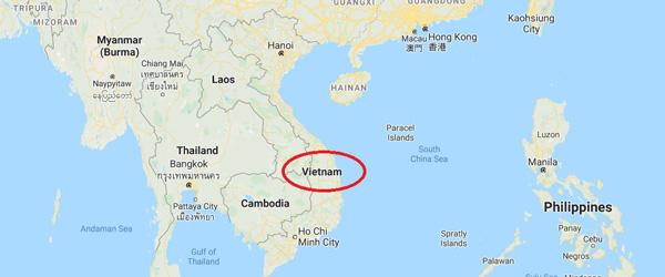 vietnam haritası, nerede, hangi kıtada, nasıl ve ne zaman gidilir, gezilecek yerler