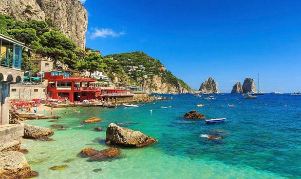 yaz tatili önerileri, napoli capri adası
