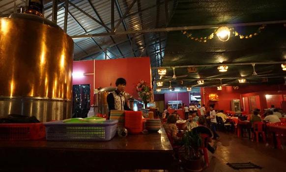 five men fresh beer bar sihanoukville