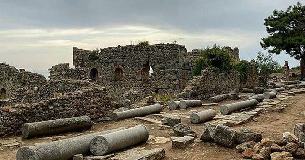 alanya gezilecek yerler syedra antik kenti