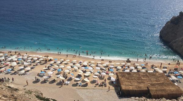 en güzel tatil beldeleri kaş kaputaj plajı