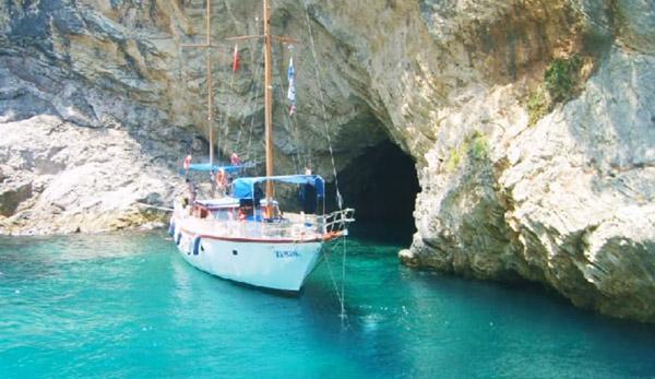 kalkan gezilecek yerler ne yapılır mavi mağara