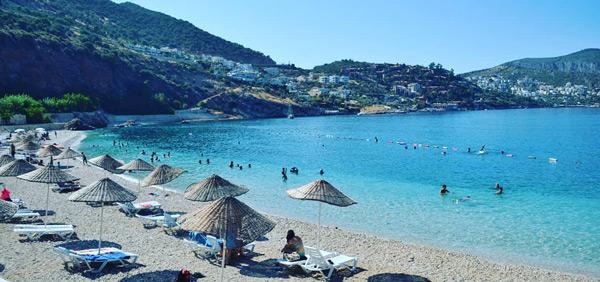 kalkan halk plajı ne yapılır gezi rehberi