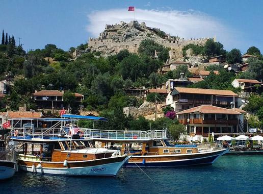 simena antik kenti kekova tekne turları
