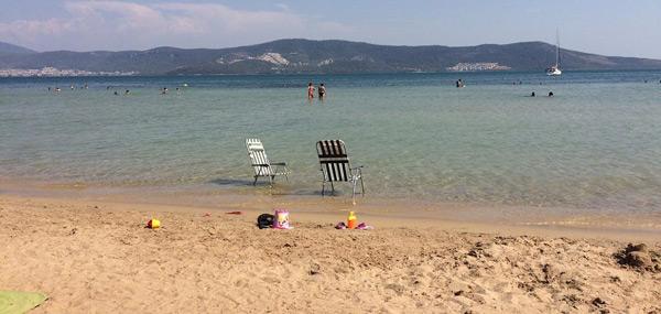 akbük koyu plajı