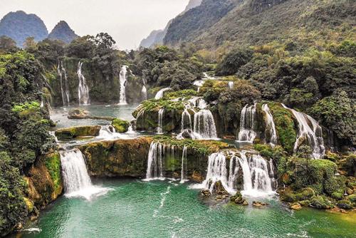 ban gioc waterfall hakkında bilgiler