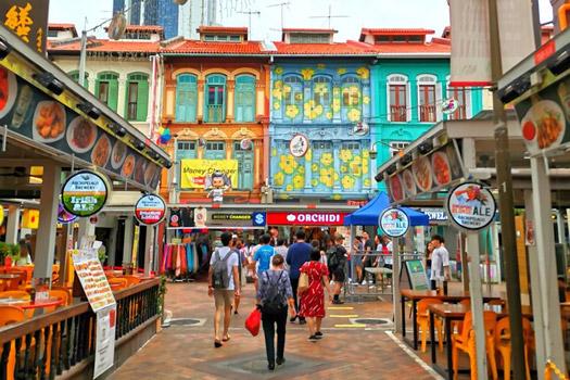 chinatown çin mahallesi