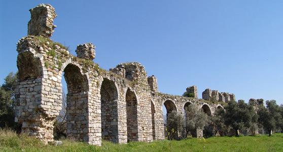 keramos antik kenti tarihi yerler